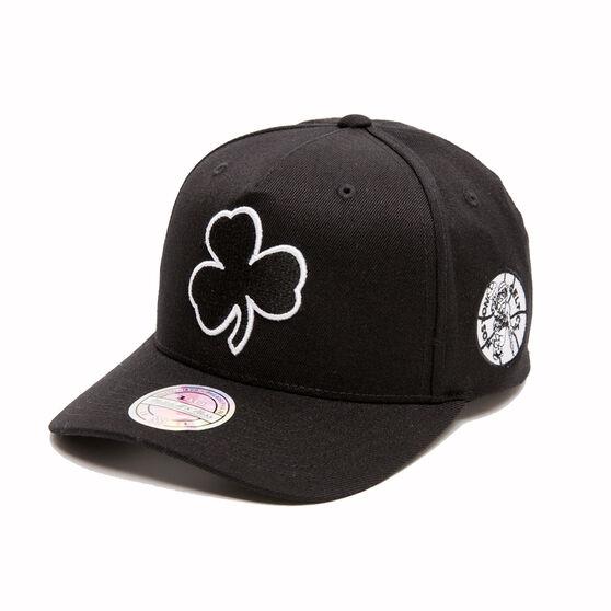 The Mitchell & Ness Boston Celtics BNW Logo 110 Snapback Cap, , rebel_hi-res
