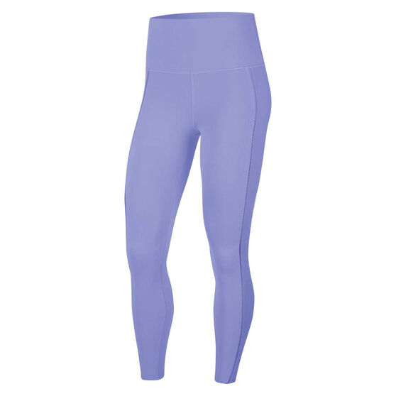 Nike Yoga Womens Luxe Ribbed 7/8 Tights, Thistle, rebel_hi-res