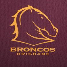 Brisbane Broncos 2020 Mens Training Tee, Maroon, rebel_hi-res