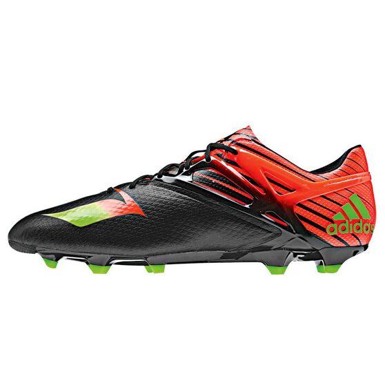 f46468d46e3db3 adidas Messi 15.1 Mens Football Boots Black   Red US 9.5 Adult ...