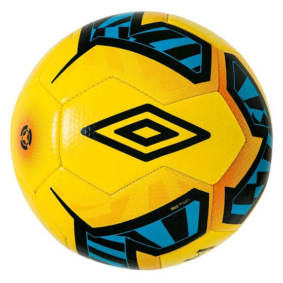 Umbro Neo Trophy Soccer Ball, Yellow / Black, rebel_hi-res