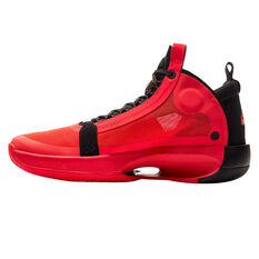 Nike Air Jordan XXXIV Mens Basketball Shoes Red/Black US 7, Red/Black, rebel_hi-res