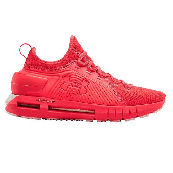 Under Armour HOVR Phantom SE Womens Running Shoes, Pink / White, rebel_hi-res