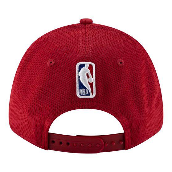 Miami Heat New Era 9FORTY Back Half Stretch Snap Cap, , rebel_hi-res
