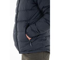 Macpac Mens Halo Hooded Jacket, Black, rebel_hi-res