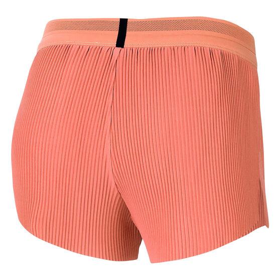 Nike Womens AeroSwift Running Shorts, Orange, rebel_hi-res