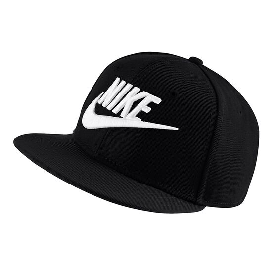 Nike Boys Futura True Snapback Hat Black   White OSFA  64f9e8482c8
