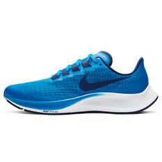 Nike Air Zoom Pegasus 37 Mens Running Shoes Blue US 7, Blue, rebel_hi-res