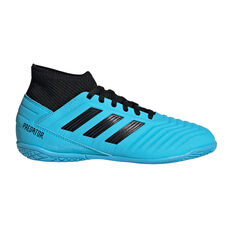 adidas Predator 19.3 Kids Indoor Soccer Shoes Blue / Black US 11, Blue / Black, rebel_hi-res