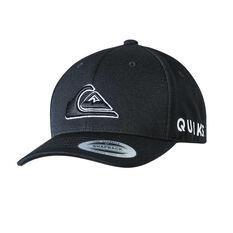 Quiksilver Boys Hitting Hard Snapback Cap Black OSFA, Black, rebel_hi-res