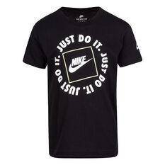 Nike Boys SS Graphic Tee Black 4, Black, rebel_hi-res