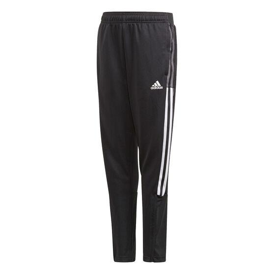 adidas Boys Tiro 21 Track Pants, Black, rebel_hi-res