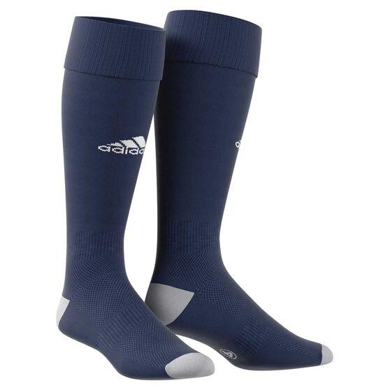 adidas Milano 16 Football Socks, Blue / White, rebel_hi-res