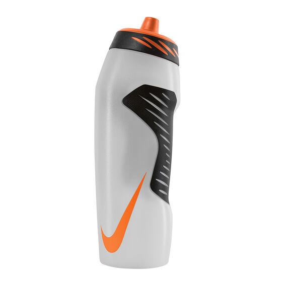 Nike Hyperfuel 946ml Water Bottle Clear / Orange 946mL, Clear / Orange, rebel_hi-res