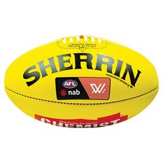 Sherrin KB Australian Rules Ball Yellow 4, , rebel_hi-res