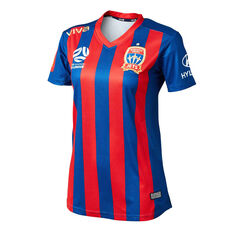 Newcastle Jets FC 2019/20 Womens Home Jersey Blue / Red 8, Blue / Red, rebel_hi-res