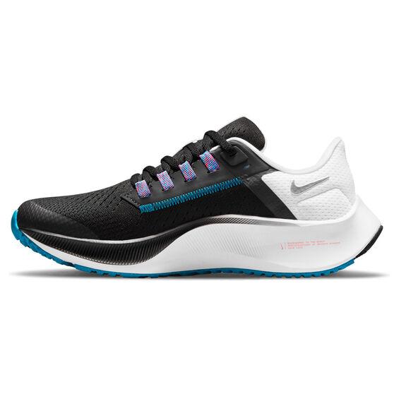 Nike Air Zoom Pegasus 38 Kids Running Shoes, Black/Navy, rebel_hi-res