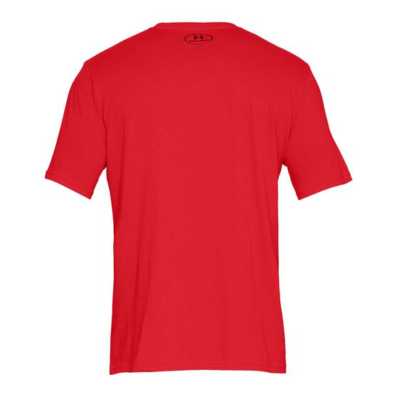 Under Armour Mens Sportstyle Tee, Red, rebel_hi-res