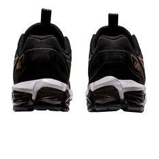 Asics GEL Quantum 90 Mens Casual Shoes, Black/Gold, rebel_hi-res