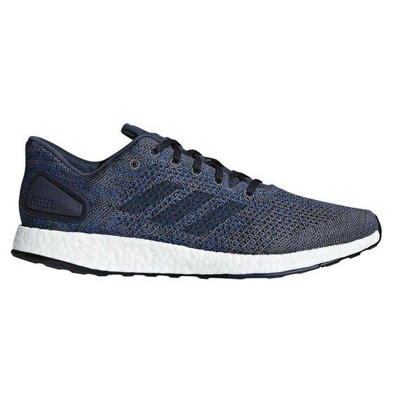 7511c577e67da adidas Pureboost DPR Mens Running Shoes Grey   Blue US 9