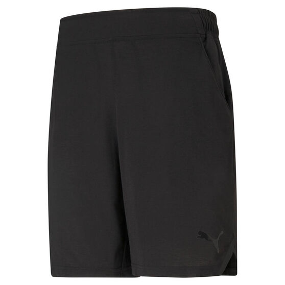 "Puma Drirelease 8"" Mens Training Shorts, Black, rebel_hi-res"