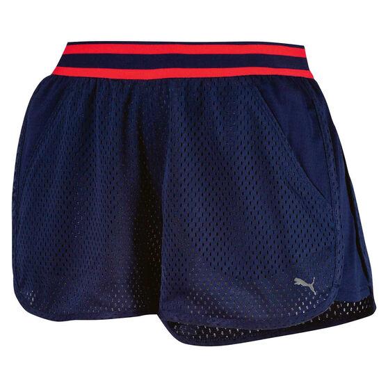 Puma Womens A.C.E. Mesh Shorts, , rebel_hi-res