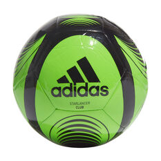 adidas Starlancer Club Soccer Ball Green 3, Green, rebel_hi-res