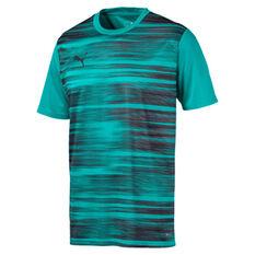 Puma Mens ftblNXT Core Graphic Tee Blue S, Blue, rebel_hi-res