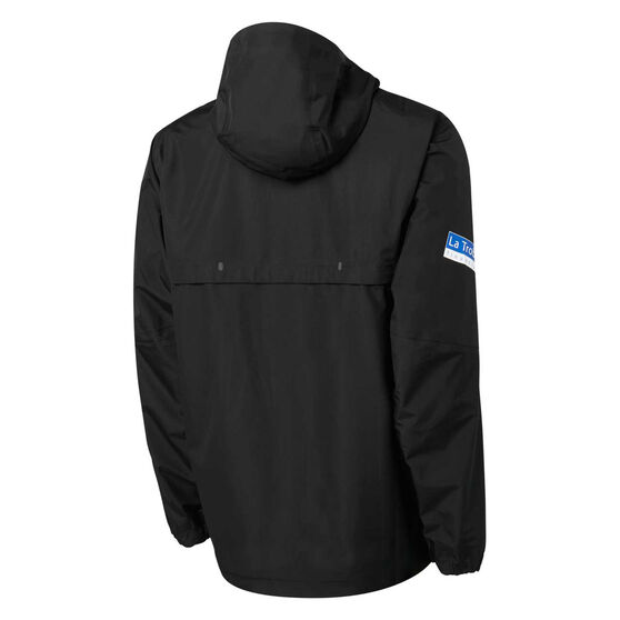 Collingwood Magpies 2021 Mens Wet Weather Jacket, Black, rebel_hi-res