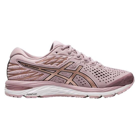 Asics GEL Cumulus 21 Womens Running Shoes, Pink / Rose Gold, rebel_hi-res