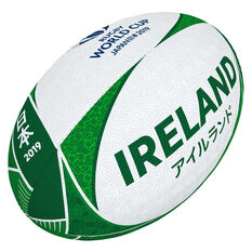 Gilbert Rugby World Cup 2019 Ireland Supporter Rugby Ball, , rebel_hi-res