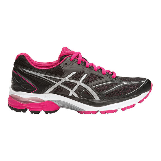 10d2803ff44dd Asics Gel Pulse 8 Womens Running Shoes Black   Silver US 6