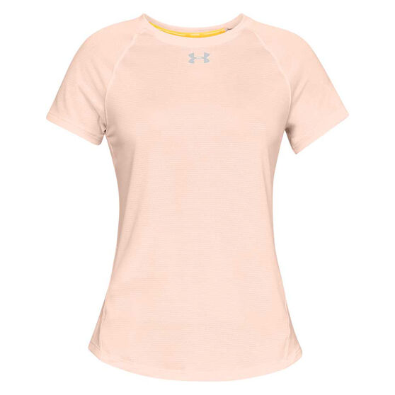 Under Armour Womens Qualifier HexDelta Tee, , rebel_hi-res