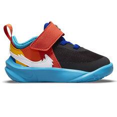 Nike Team Hustle D 10 Toddlers Shoes Black US 2, Black, rebel_hi-res