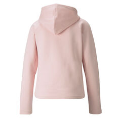 Puma Womens Evostripe Hoodie Pink XS, Pink, rebel_hi-res