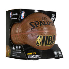 Spalding NBA Trend Series Brown Snake Skin Basketball Brown 7, Brown, rebel_hi-res