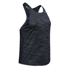 Under Armour Womens Streaker 2.0 Time Lapse Tank Grey XS, Grey, rebel_hi-res