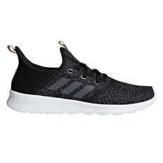 adidas Cloudfoam Pure Womens Casual Shoes Black / Grey US 6, Black / Grey, rebel_hi-res