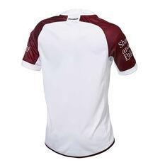 Manly Warringah Sea Eagles 2019 Mens Away Jersey White / Maroon S, White / Maroon, rebel_hi-res