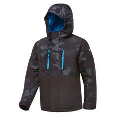 Tahwalhi Boys Joker Ski Jacket Grey 4, Grey, rebel_hi-res