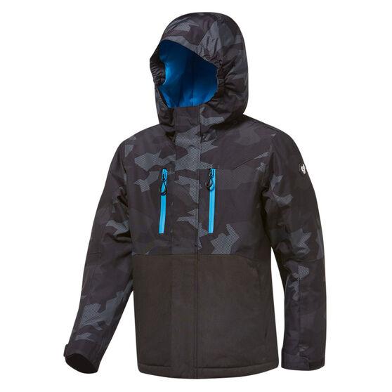 Tahwalhi Boys Joker Ski Jacket, Grey, rebel_hi-res