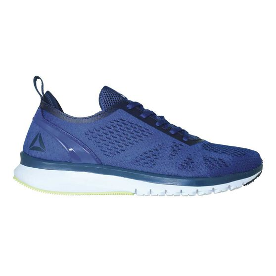 81c9a381b8f0c Reebok Print Smooth Clip Ultraknit Mens Running Shoes Blue   Navy US ...