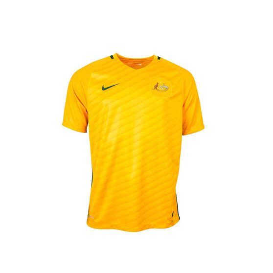 Socceroos 2017 Mens Home Jersey XXL, , rebel_hi-res