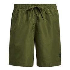 adidas Womens Woven Long Length Shorts Khaki XS, Khaki, rebel_hi-res