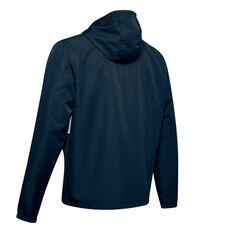 Under Armour Mens Sportstyle Wind Jacket Navy XS, Navy, rebel_hi-res