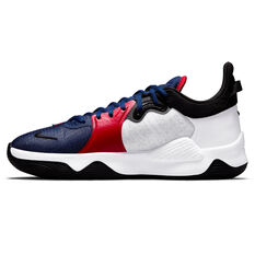 Nike PG5 Clippers Basketball Shoes White US 7, White, rebel_hi-res
