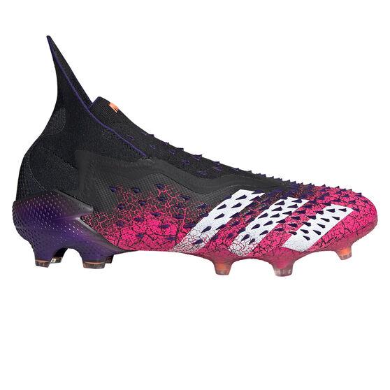 adidas Predator Freak + Football Boots, Black, rebel_hi-res