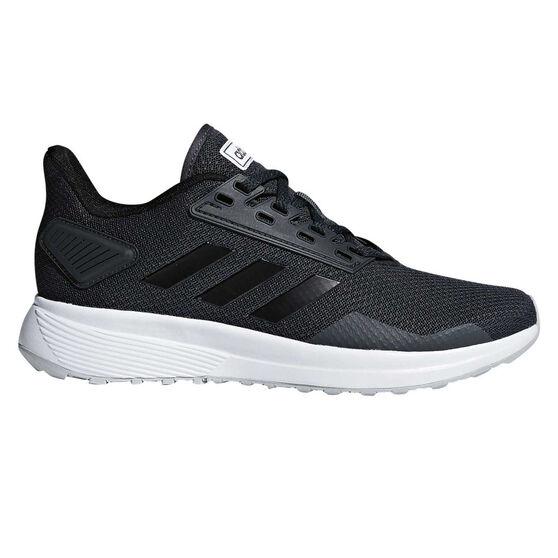 adidas Duramo 9 Womens Running Shoes, Black, rebel_hi-res
