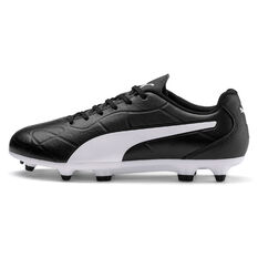 Puma Monarch Kids Football Boots Black US 11, Black, rebel_hi-res