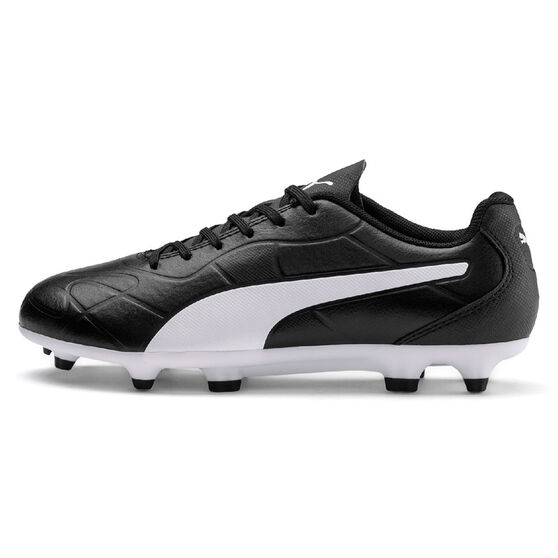 Puma Monarch Kids Football Boots, Black, rebel_hi-res